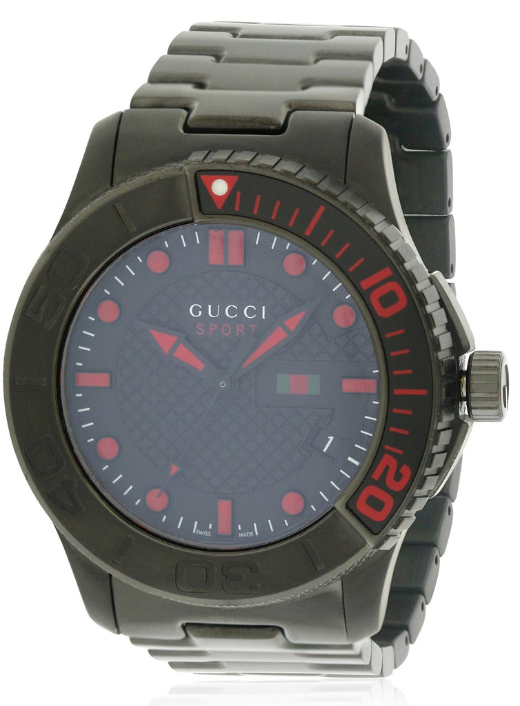 Gucci G-Timeless Black PVD   Stainless Steel Mens Watch