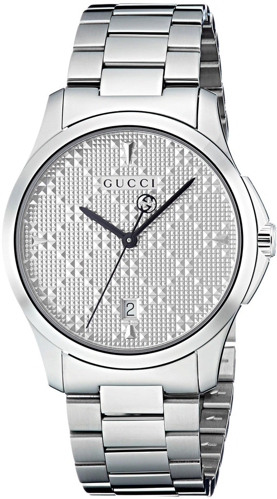 Gucci G-Timeless Diamante Ladies Watch