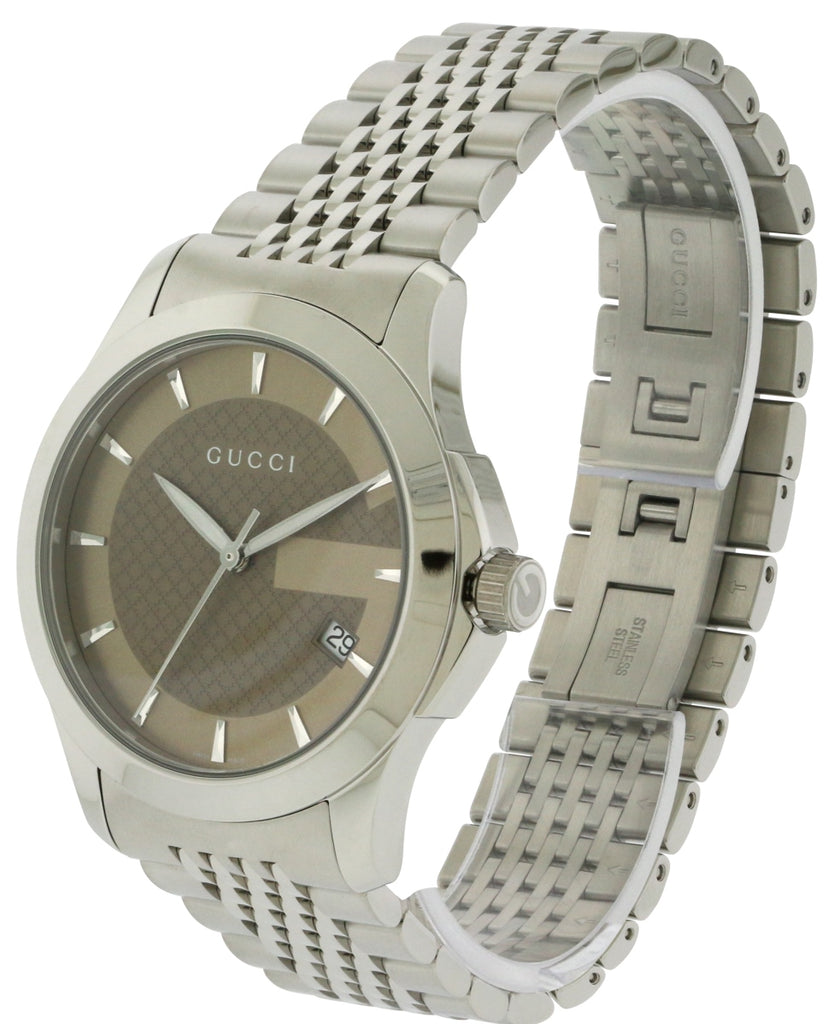 Gucci Stainless Steel Mens Watch