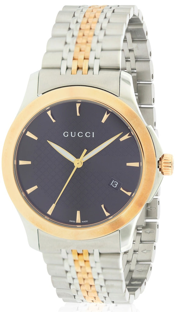 Gucci G-Timeless Red Gold PVD Mens Watch