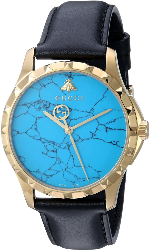 Gucci G-Timeless Turquoise Dial Mens Watch