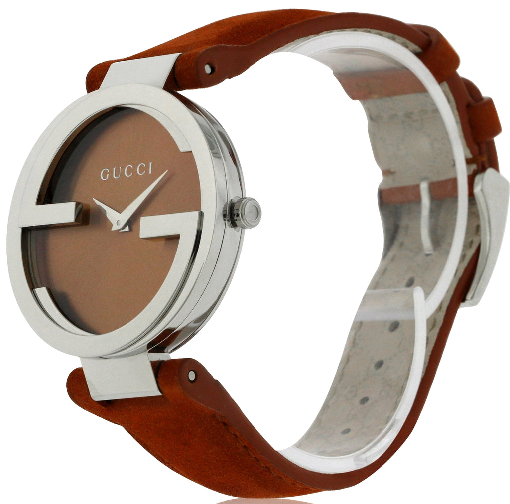 Gucci Interlocking Orange Ladies Watch