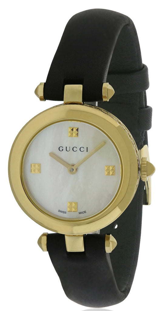 Gucci Diamantissima Leather Ladies Watch