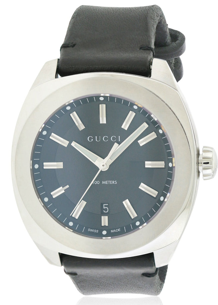 Gucci Leather Mens Watch