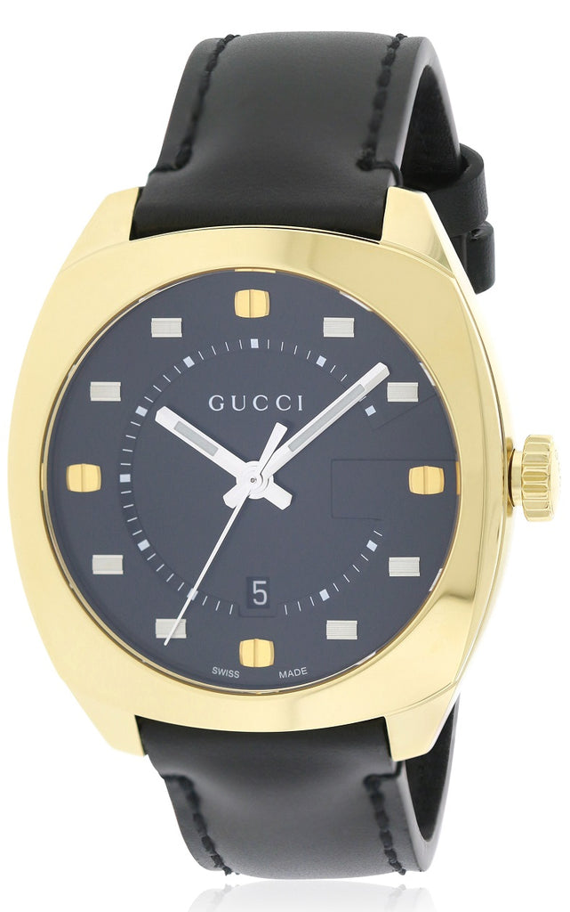 Gucci GG2570 Leather Mens Watch Item No.