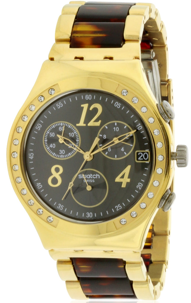 Swatch DREAMNIGHT 14 GOLDEN Ladies Watch