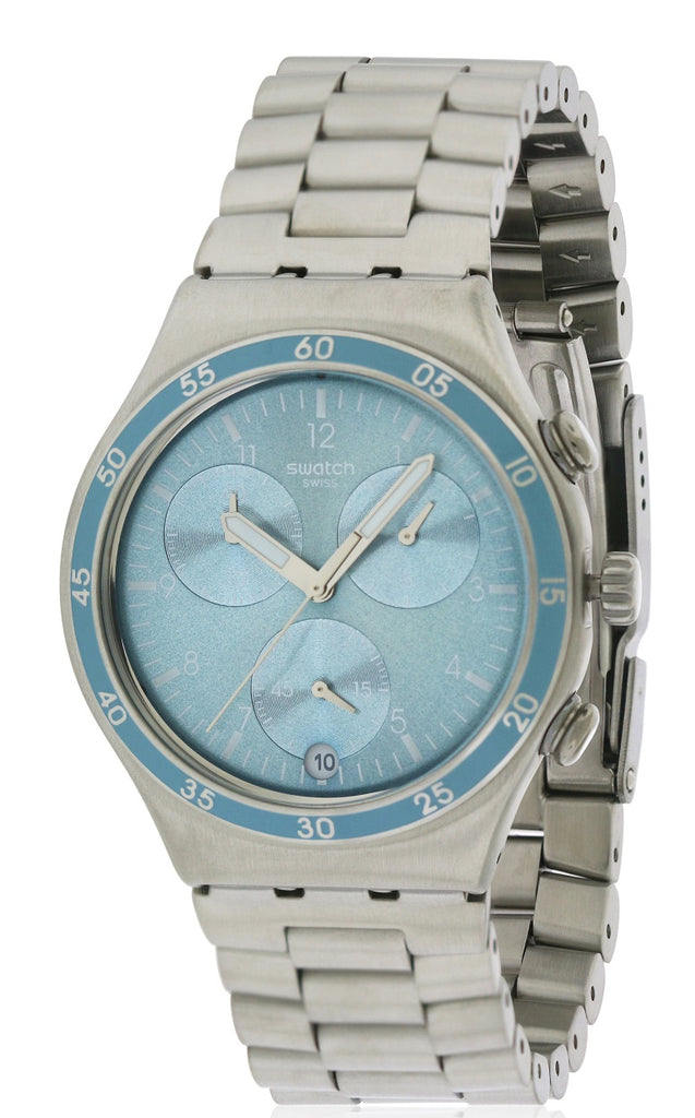 Swatch CLEAR WATER Stainless Steel Chronograph Unisex watch