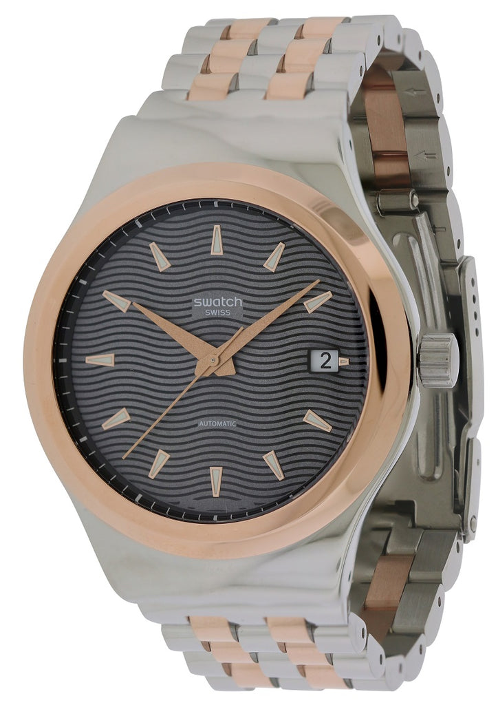 Swatch SISTEM TUX Two-Tone Automatic Mens Watch