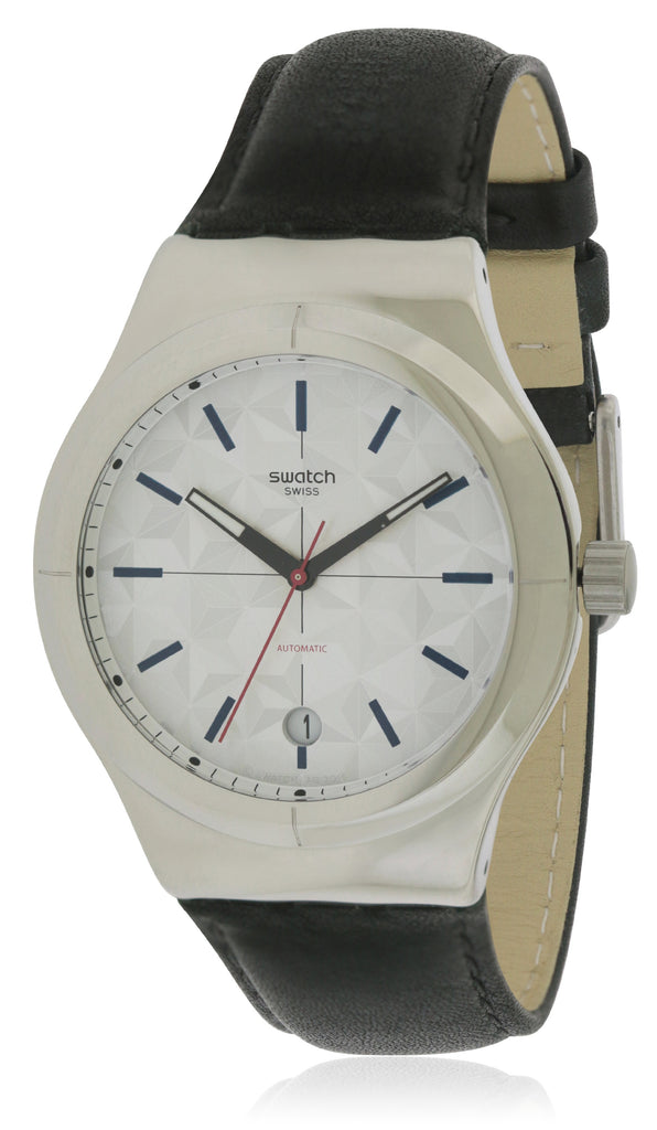 Swatch SISTEM PUZZLE Leather Mens Watch