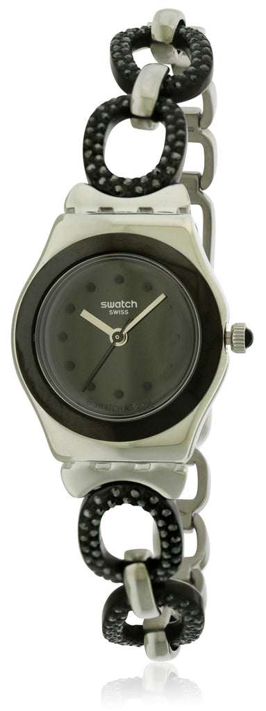 Swatch BLACK GLITTER Ladies Watch