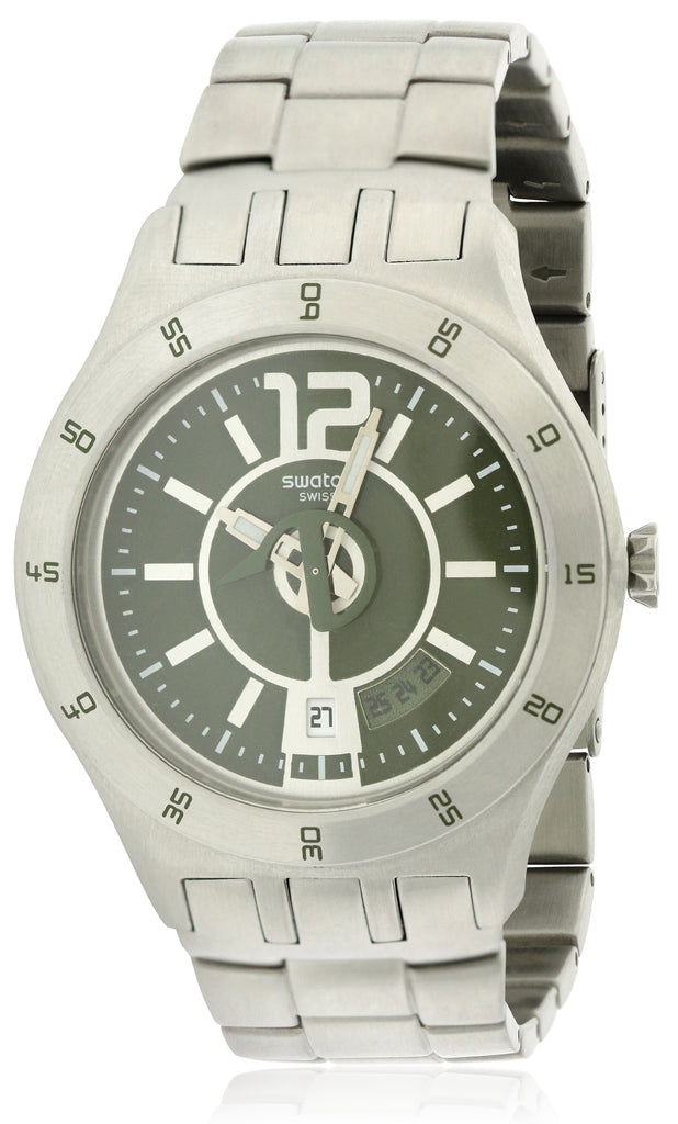 Swatch In A Green Mode Mens   Watch