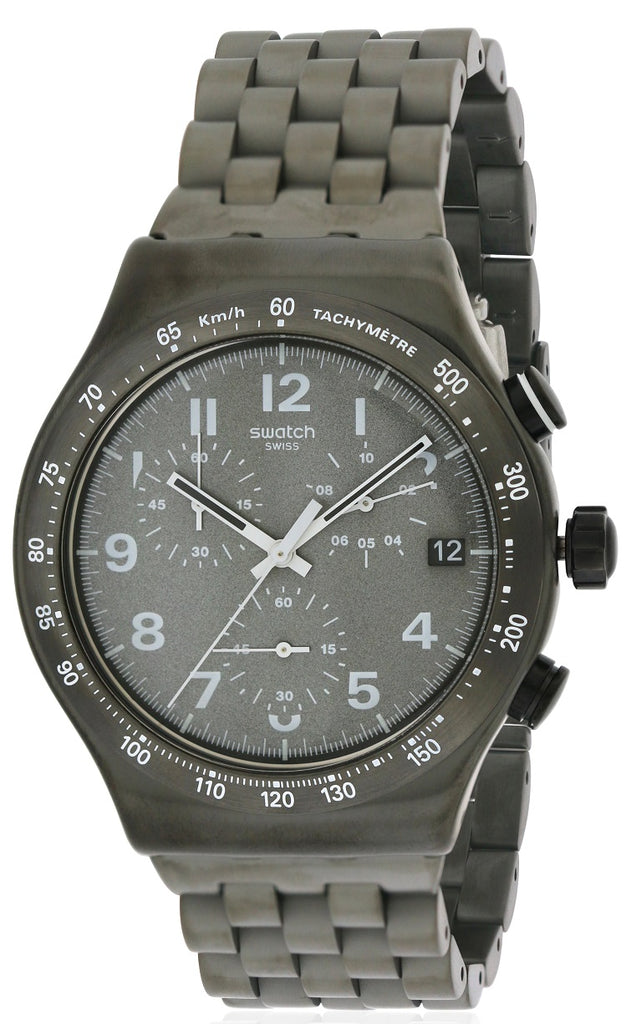 Swatch DESTINATION SOHO Stainless Steel Chronograph Mens Watch