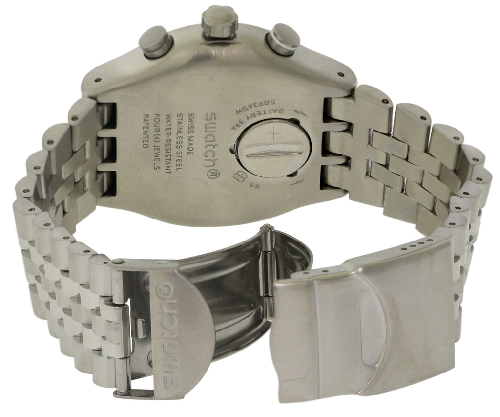 Swatch Destination Upper East Chronograph Mens Watch