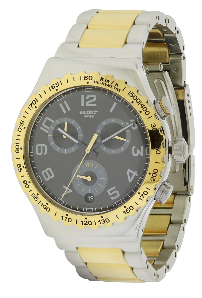 Swatch GOLDEN YOUTH Mens Watch