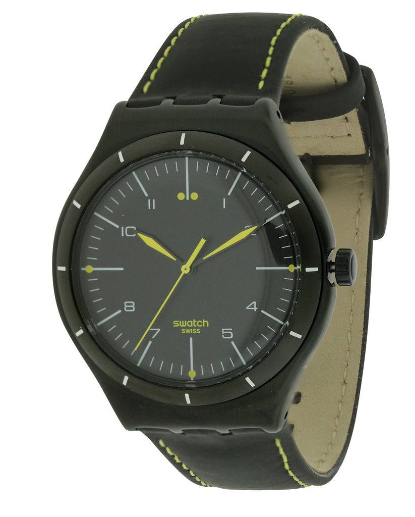 SWATCH BLACK BLISS Mens Watch