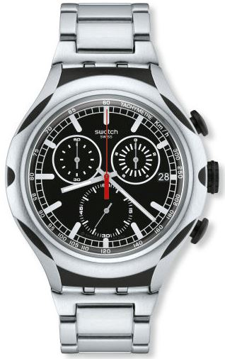 Swatch Black Energy Mens Watch
