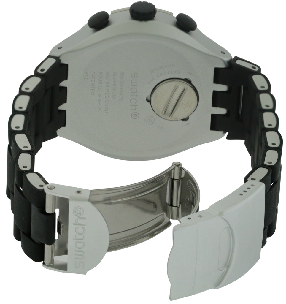 Swatch BLACK ATTACK Unisex Watch