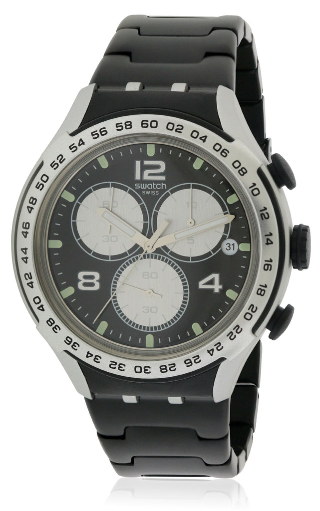 Swatch NIGHT ATTACK Mens Watch