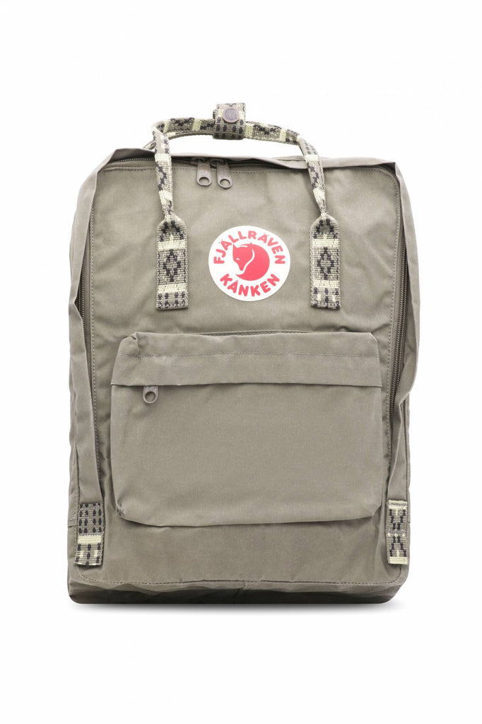 Fjallraven - Kanken Classic Backpack for Everyday - Green/Folk Pattern