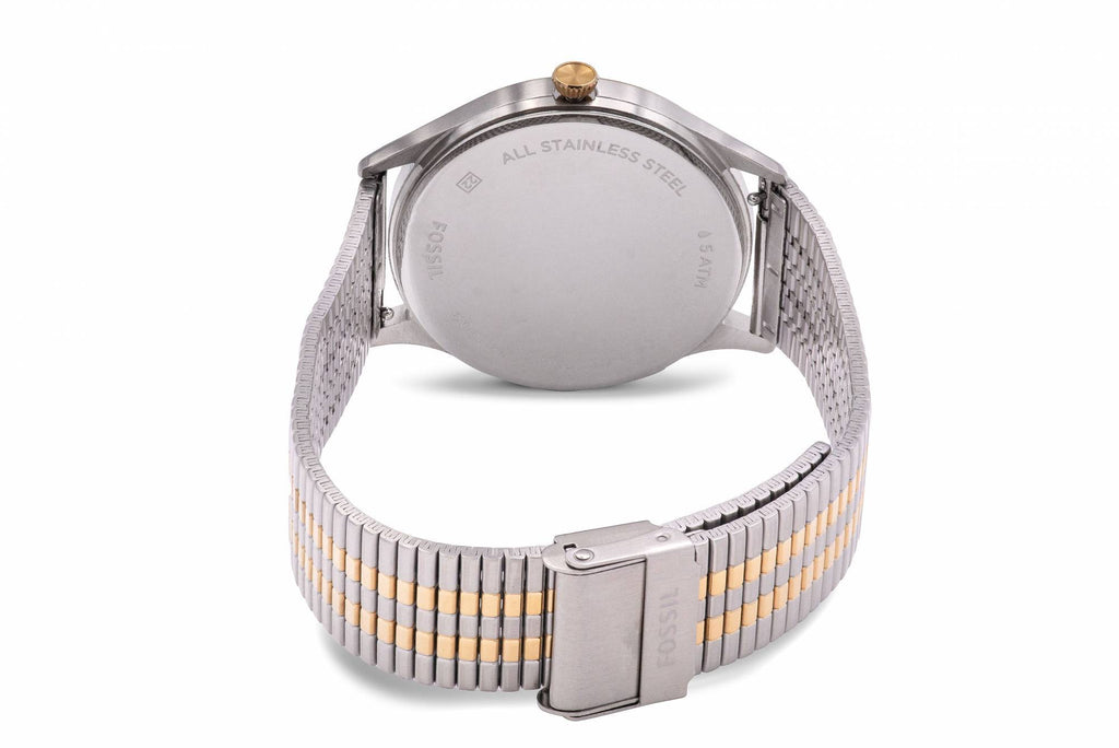 Fossil Forrester Two-Tone Stainless Steel Mens Watch