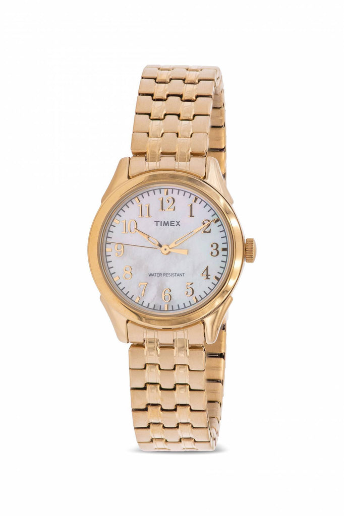 Timex Briarwood Gold-Tone Expansion Ladies Watch