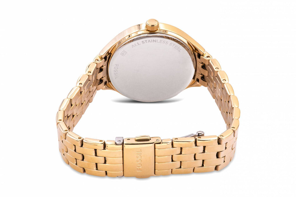 Fossil Suitor Gold-Tone Ladies Watch