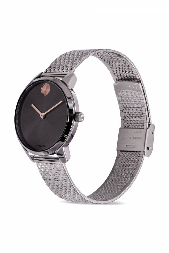 Movado Bold Thin Mesh Ladies Watch 360059