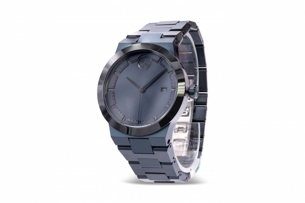 Movado Bold Fusion Blue Mens Watch