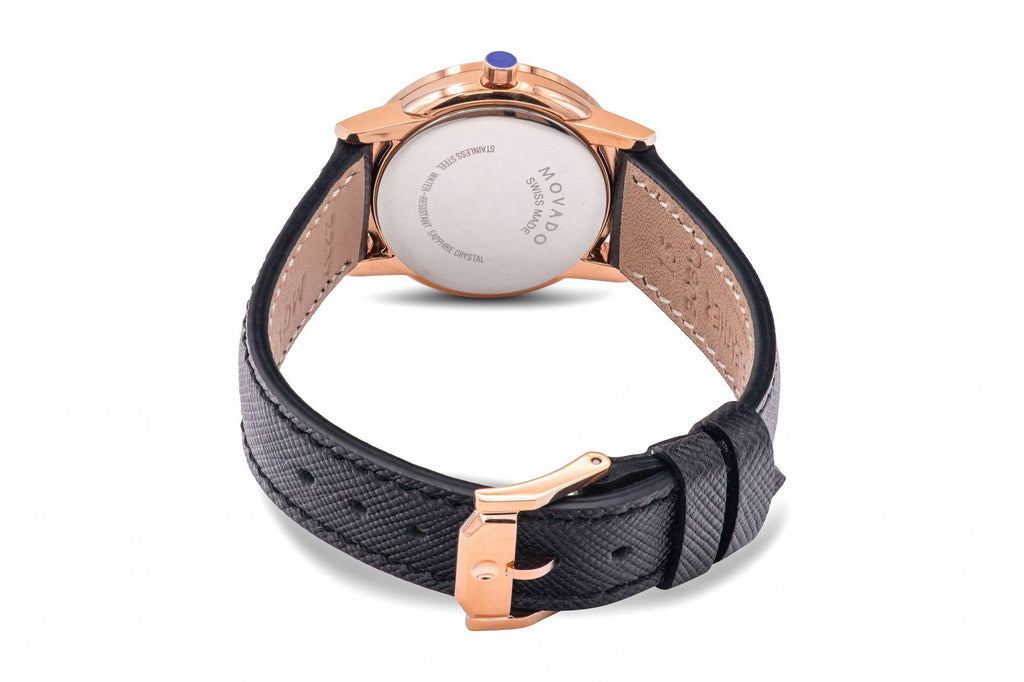 Movado Museum Classic Leather Ladies Watch