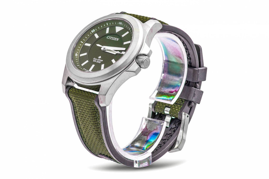 Citizen Eco-Drive Promaster Tough Military Green Mens Watch