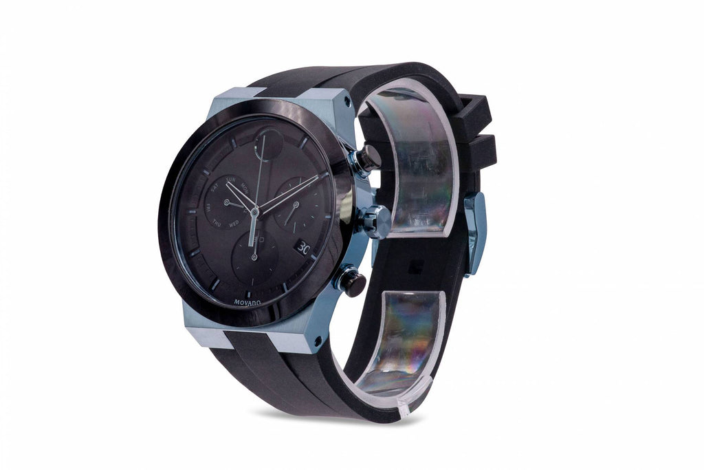 Movado Bold Fusion Chronograph Silicone Mens Watch