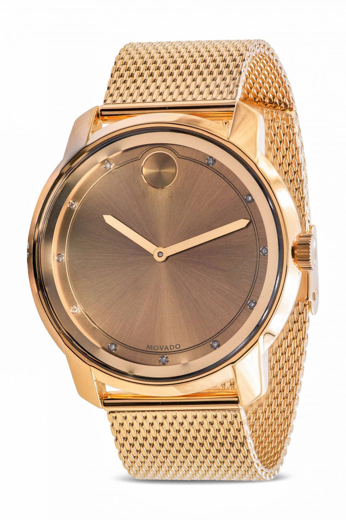 Movado Bold Gold Unisex Watch