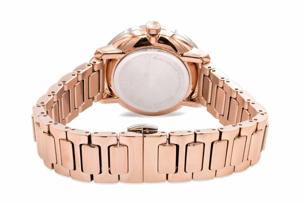 Movado Bold Shimmer Gold-Tone Ladies Watch