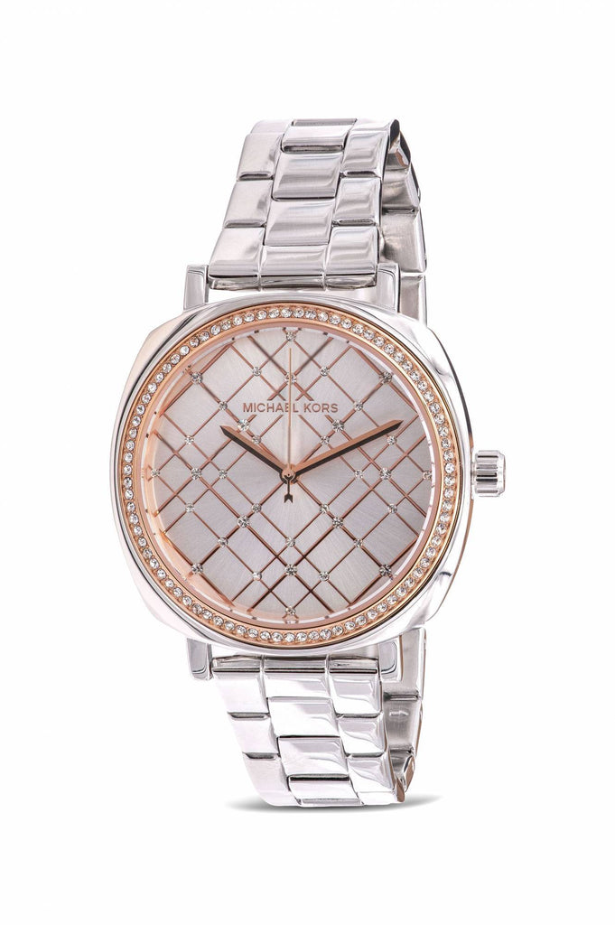 Michael Kors Nia Stainless Steel Ladies Watch