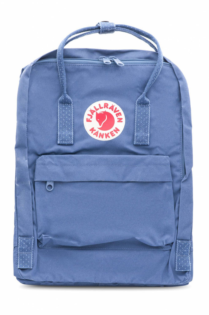 Fjallraven - Kanken Classic Backpack for Everyday - Royal Blue & Pinstripe Pattern