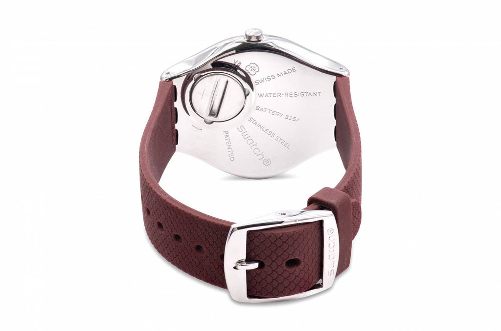 Swatch Skinburgundy Unisex Watch