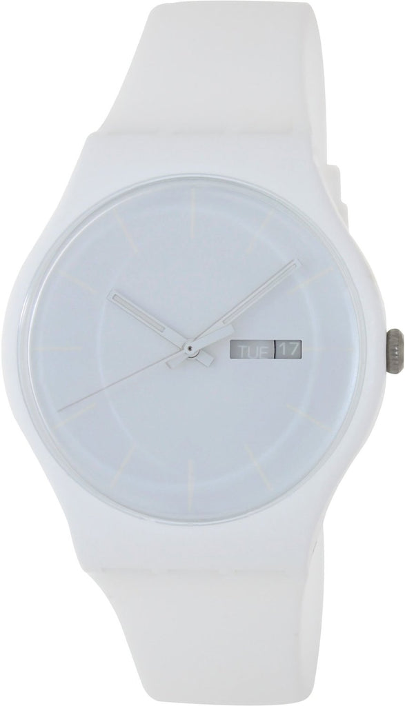 Swatch 'White Rebel' Watch