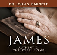 James: Authentic Christian Living (MP3 CD)