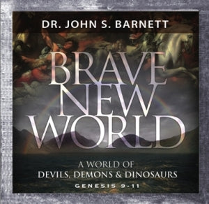 Brave New World - After the Flood: A World of Devils, Demons and Dinosaurs (MP3 CD)
