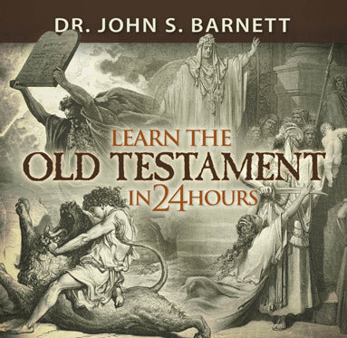 Learn The Old Testament In 24 Hours (MP3 CD)