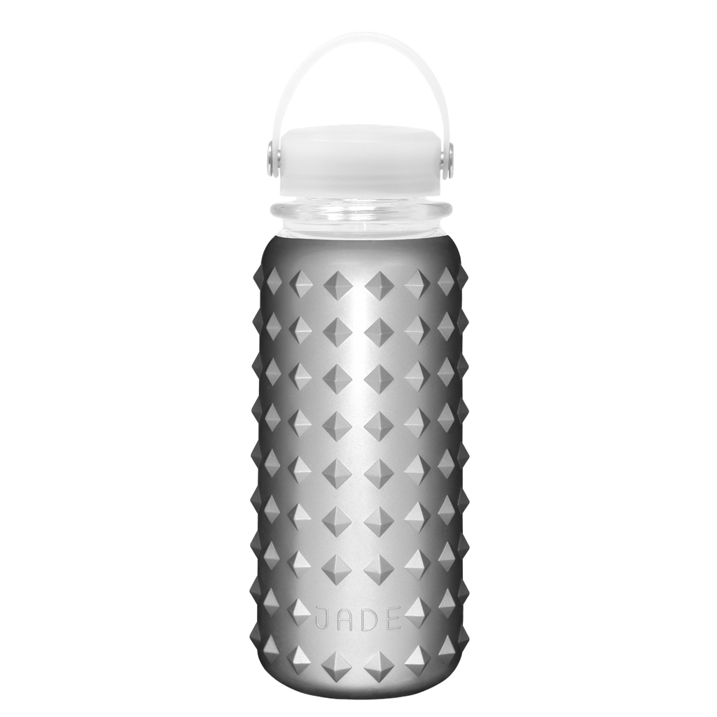 GLASS BOTTLE 30oz (FUTURISTIC SILVER)
