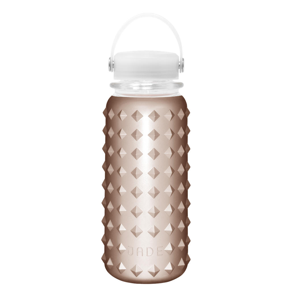 GLASS BOTTLE 30oz (ROSE GOLD)