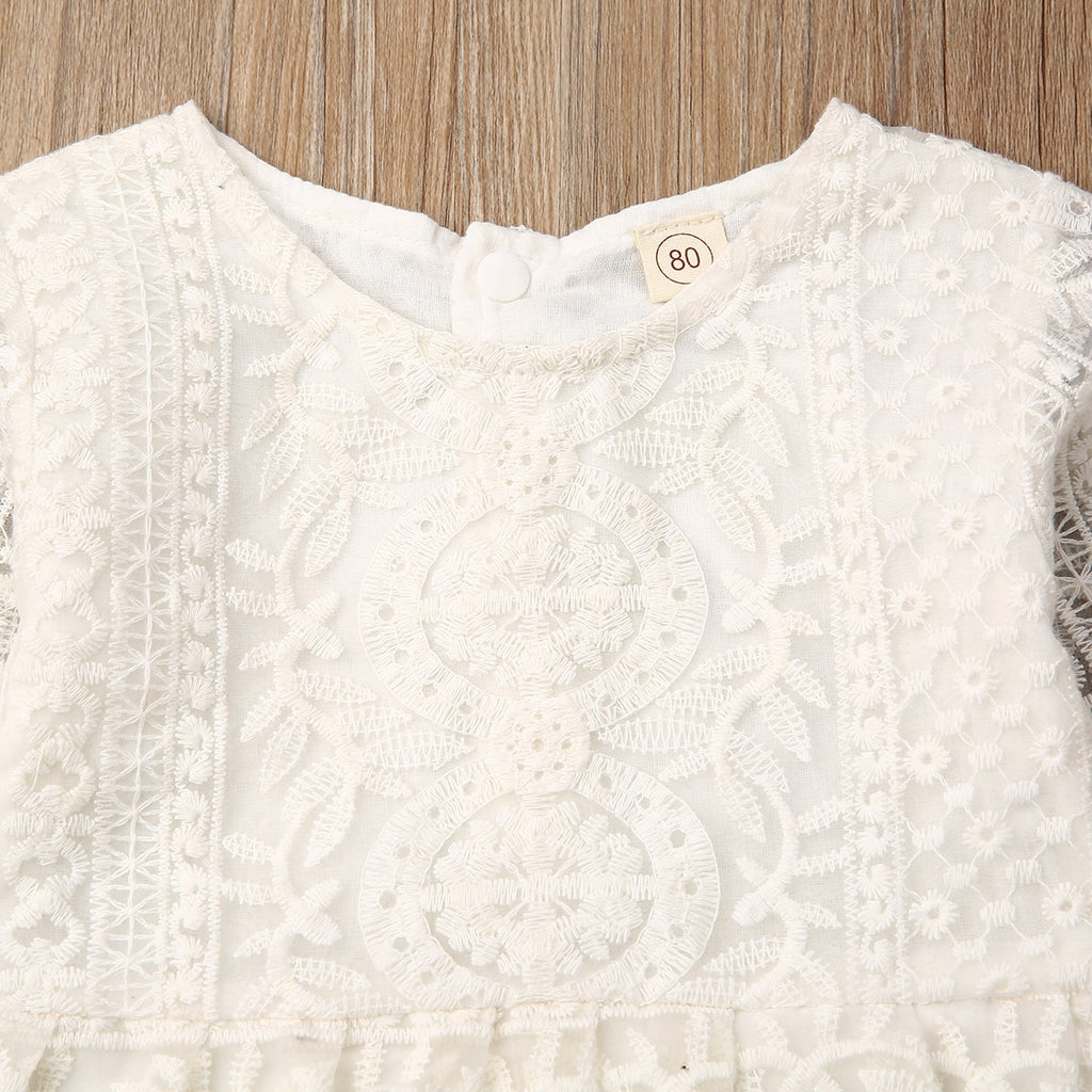 Newborn Lace Onesie Set