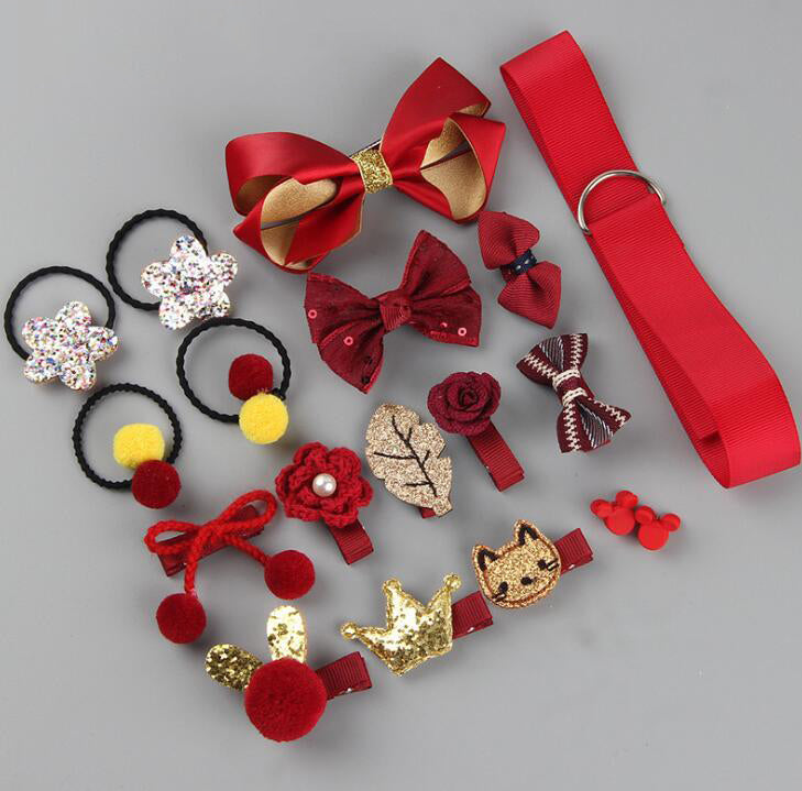 18 Pcs/Box Children Hair Accessories