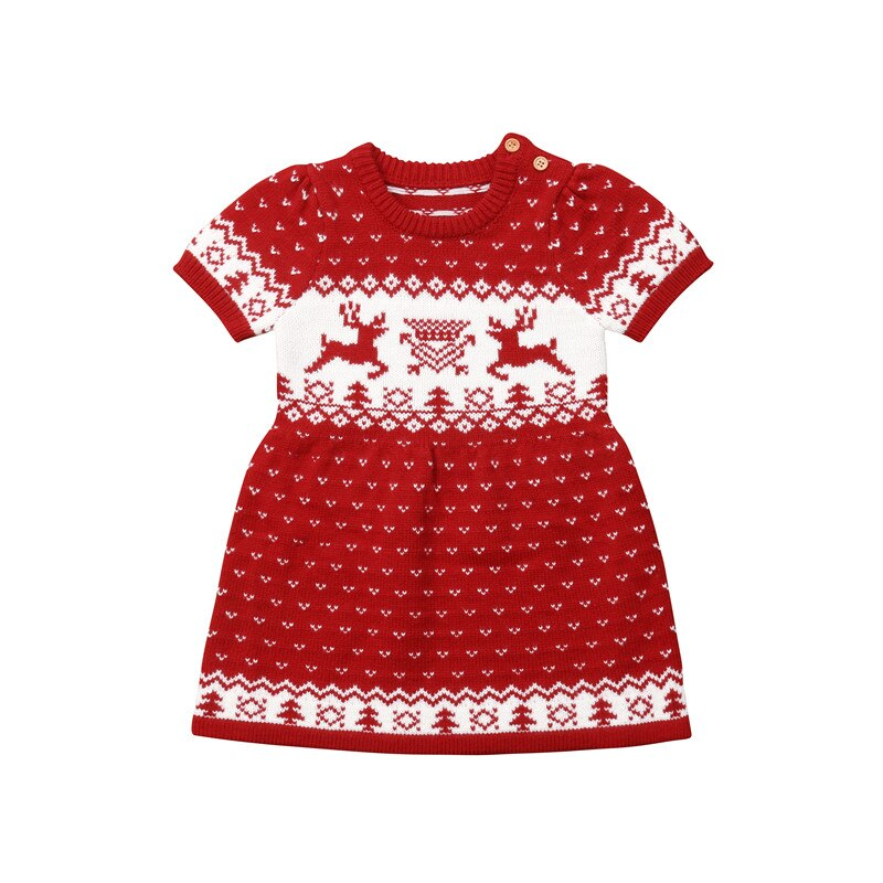 Knitted Christmas Dress