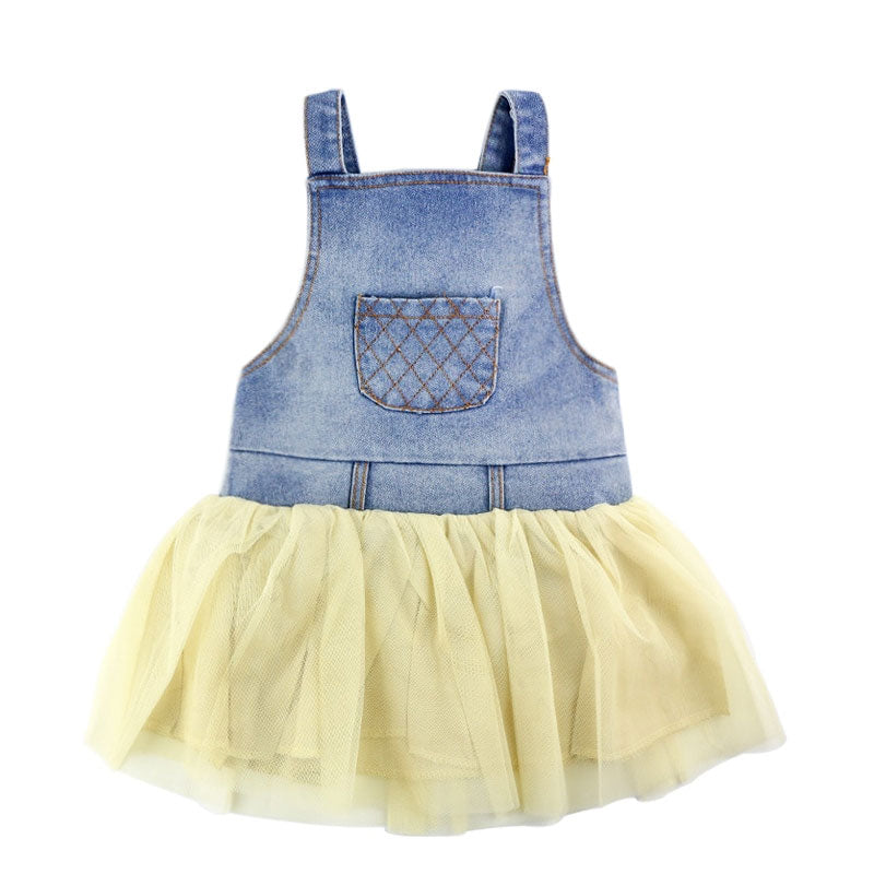 Denim Tutu Set