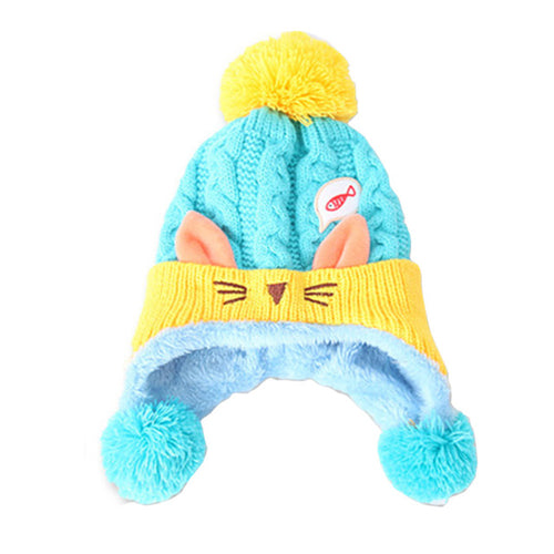 Rabbit Knitted Hat