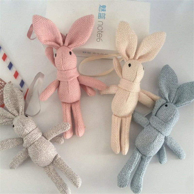 Plush Pastel Rabbit
