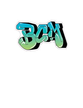 BCM Graffiti Decal