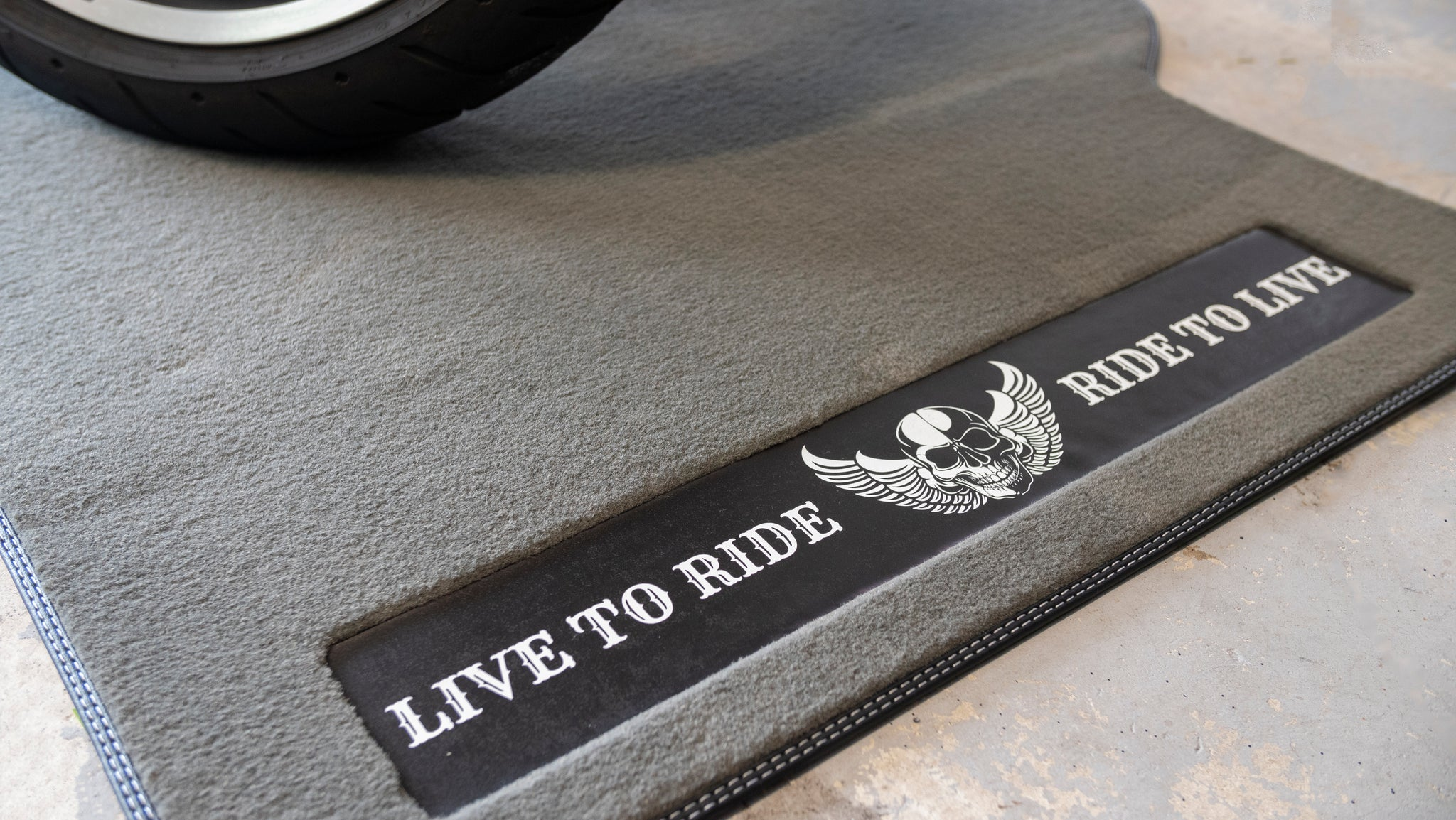 LIVE TO RIDE RIDE TO LIVE MOTORCYCLE MAT XL